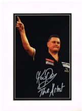 Kevin Painter Autograph Signed Photo - Darts